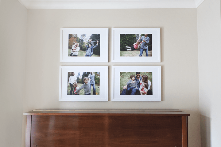 Our Family Portrait Wall Gallery