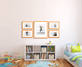 photo gallery for a child's room