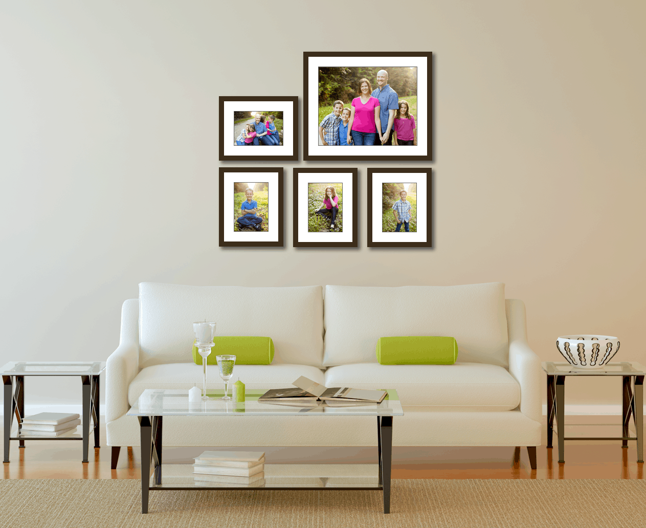 picture wall gallery frame set jenn di spirito photography. Black Bedroom Furniture Sets. Home Design Ideas