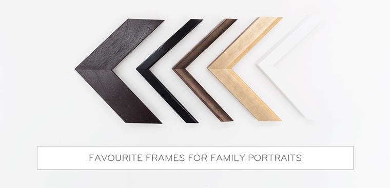 Favourite Frames For Family Portraits