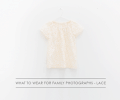 lace for family photographs