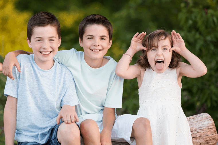 let them be naughty in your family photographs | beach portraits