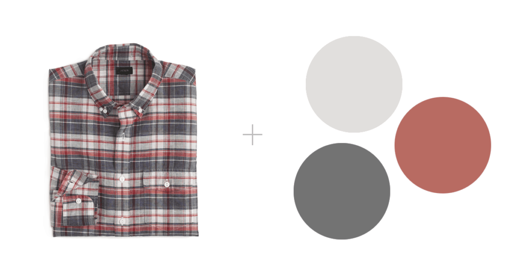 how to wear patterns in family photographs | jcrew shirt
