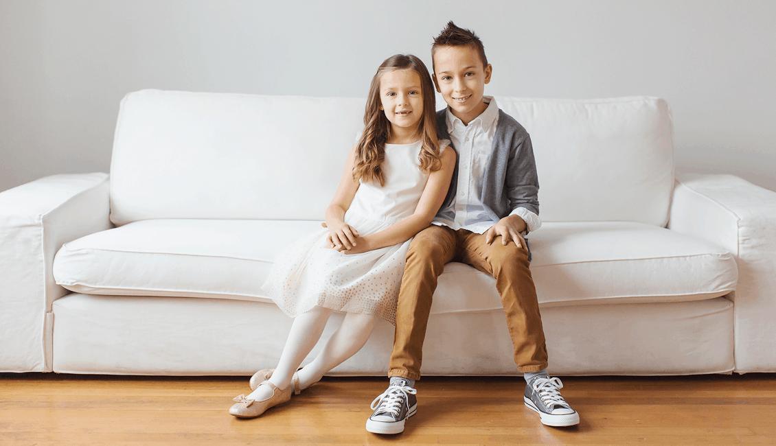 Vancouver family photos in studio