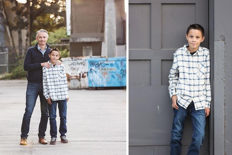 urban family portraits in Vancouver | Jenn Di Spirito Photography | www.jenndispirito.com