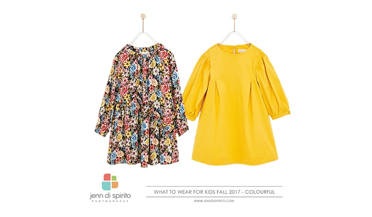 What to Wear For Family Portraits: Fall 2017 | colourful option